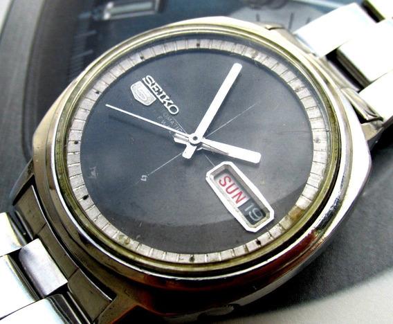 Seiko 5 6119-6003 Todo Em Aço Vintage Automático