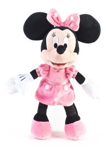 Muñeco Peluche Suave Minnie 35 Cm Disney Original Wabro