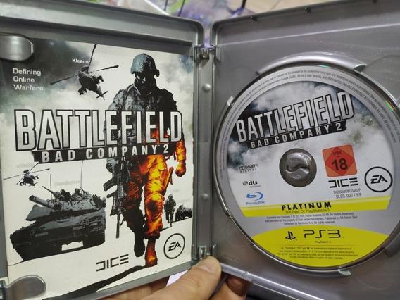 Battlefield Bad Company 2 Ps3 Usado Mídia Física Zerada
