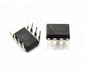 5 Unidades Ne5532 Pré Amplificador De Áudio Dip