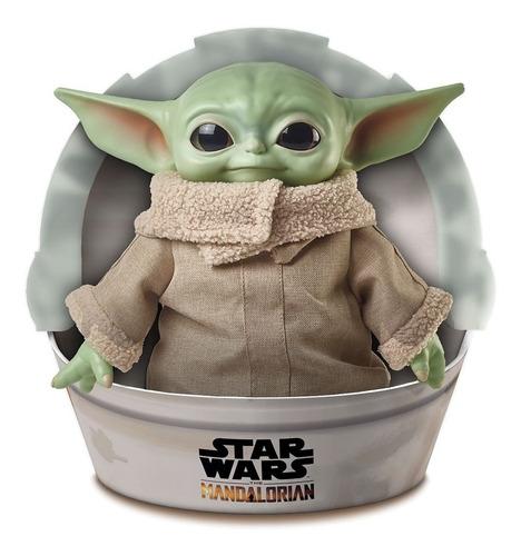 Imagem 1 de 4 de Boneco De Pelúcia Mattel Star Wars The Mandalorian Baby Yoda