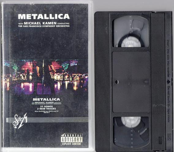 Metallica Vhs Michael Kamen San Francisco Symphony Orchestra