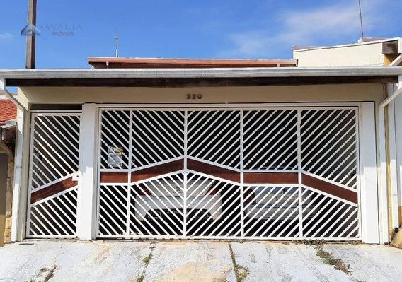 Casa À Venda, 122 M² Por R$ 320.000,00 - Jardim Valença - Indaiatuba/sp - Ca2896