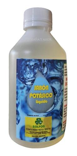 Imagen 1 de 2 de Jabon Potasico Solfos 250 Insecticida Funguicida Organico