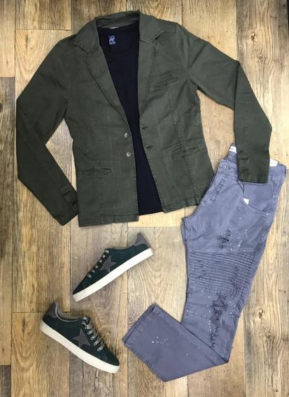 Blazer Masculino Slim Fit Luxo Casual Dardak 2019