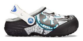 Zapato Crocs Niño Star Wars Stormtrooper Clog Peluche