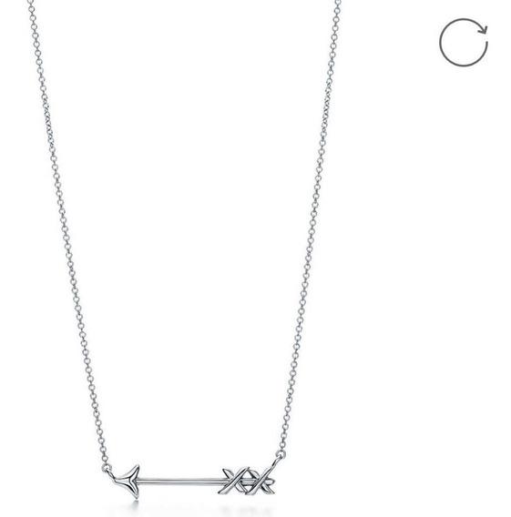 Dije Collar De Plata 0.925 Flecha Collar 5