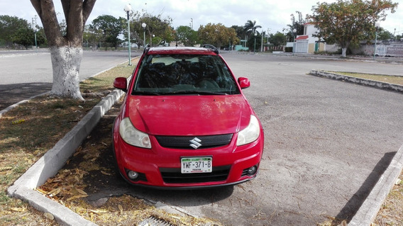 Suzuki Sx4, X-over Cross, 2008, Rojo, Automatico