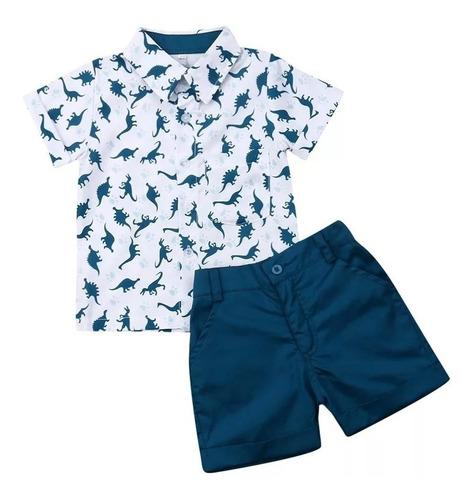 Niños Vestir Conjuntos De Ropa Prenda Bebes Pantalon Corto