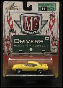 Miniatura 1969 Pontiac Gto-m2 Machines-esc1/64-lacrado(9919