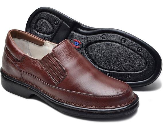 Sapato Anti Stress Masculino Social Ortopédico Conforto