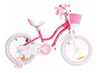 Bicicleta De Niña Royal Baby Rod 16 - Sd Bicicletas