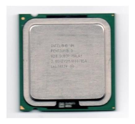 Lote Com 10 Processador Intel Pentium D 820 2.80ghz Lga 775