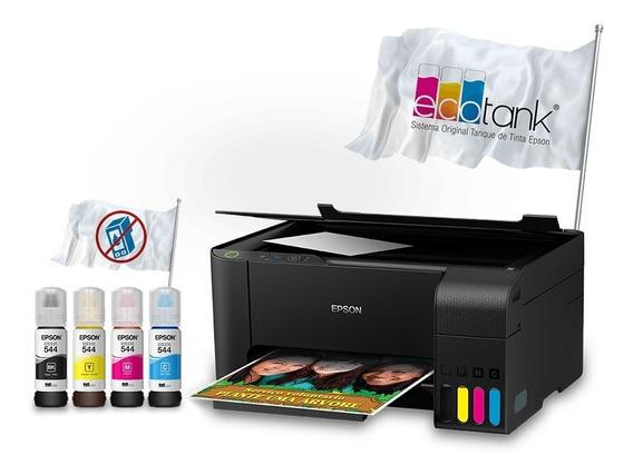 Impressora Multifuncional Epson L3110 110v/220v (bivolt)