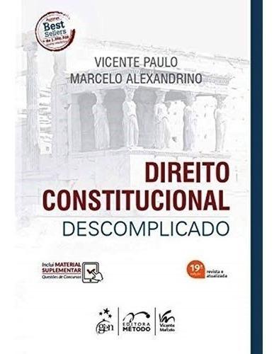 Direito Constitucional Descomplicado 19ªed - 2020