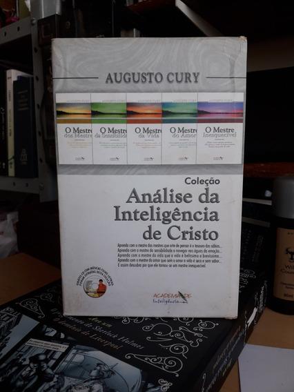 Cury, Augusto. Análise Da Inteligência De Cristo, Box 5 Vol.