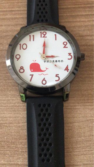 Relógio Masculino Pulso Social Bateria Reserva Com Garantia