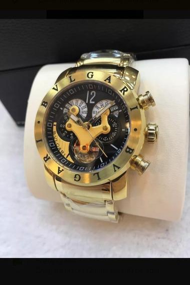 Relógio Bv Vnon Série Ouro Original