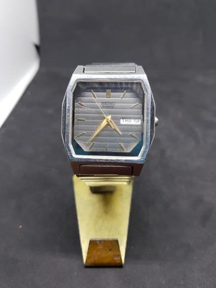 Reloj Clasico Seiko V743-5a00 Ao. Quarzo Analogo