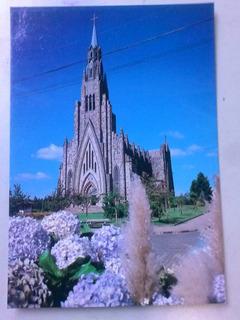Cartão Postal - Canoas - Rs - Matriz N S De Lourdes