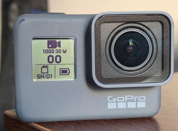 Gopro Hero 5 - Black Com 3 Baterias Originais E Cartão 64gb