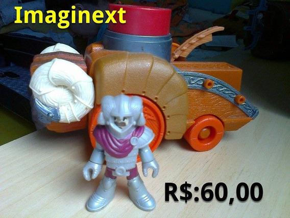 Carro Imaginext Medieval Com Boneco Foto Real