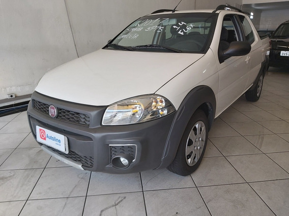 Fiat Strada 1.4 Hard Working Cab. Dupla Flex 3p 2017