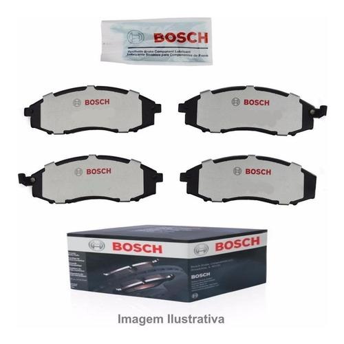 Imagen 1 de 5 de Pastillas De Freno Bosch Original Con Sensor P/ Fiat Qubo
