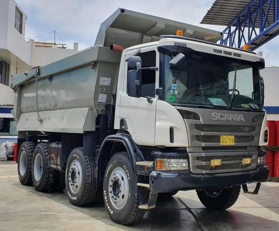 Volquete Scania P460 8x4 Año 2014