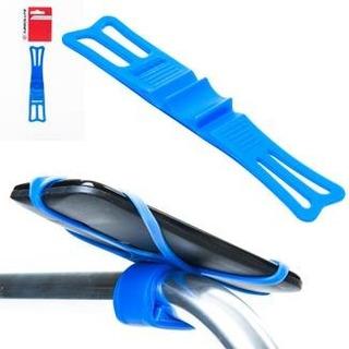 Suporte De Celular Silicone Bike Absolute Azul.