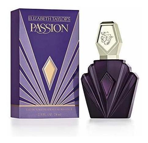 Passion By Elizabeth Taylor Para Mujer, Eau De Toilette Spra