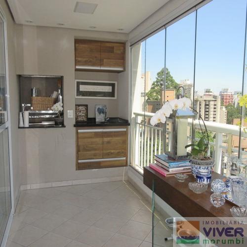 Imagem 1 de 15 de Belissimo Apartamento Pronto Para Morar No Morumbi - Nm3191