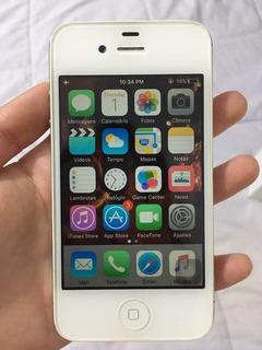 iPhone 4s 16gb Branco - 100% Perfeito