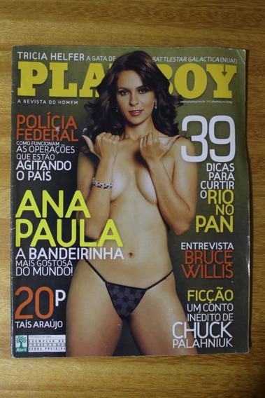 Revista Playboy - Ed. 386 07/2007 - Ana Paula Bandeirinha