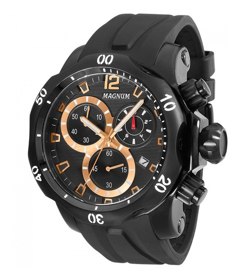 Relógio Magnum Masculino Cronógrafo Ma33755p