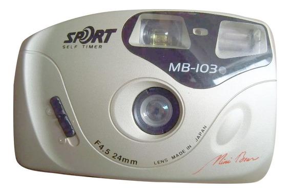 Camera Ikon Sport Self Timer Mb-103 Sem Teste