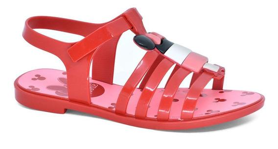 Sandália Minnie Ice Pop Vermelha Grendene 22110