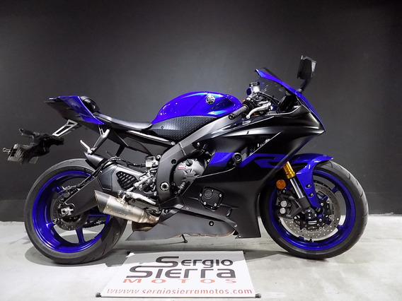 Yamaha R6r Azul 2019