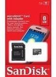 Cartão Memória 8gb Sandisk - Kit Com 10un