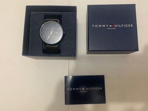 Relógio Tommy Hilfiger Masculino Aço Cinza - 1791656