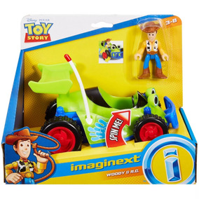 Fisher Price Imaginext Toy Story Carro Woody E R C Mattel