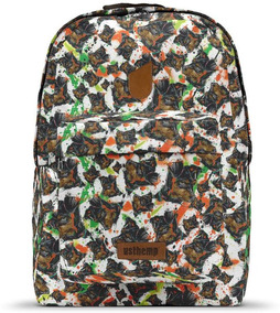 Mochila Usthemp Art Vegano Casual Estampa Ink Mutt