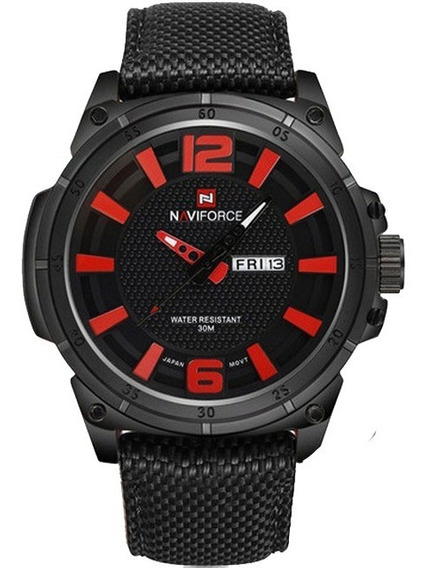 Relógio Masculino Naviforce Militar Esportivo
