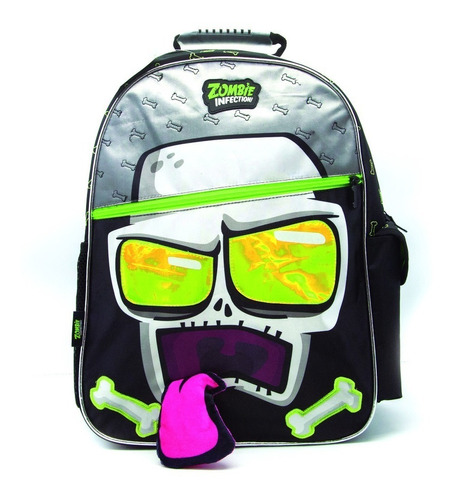 Mochila Espalda Zombie Infection 18pul +cartuchera+ 2carpeta