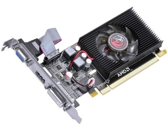 Placa De Video Geforce Hd6450 2gb Ddr3 64 Blts Pcyes - Pj645