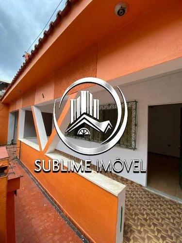 Excelente Casa À Venda Ou Para Locação De Dois Quartos Na Vila Emil - Mesquita - Sica20029