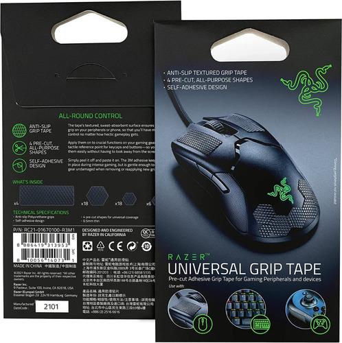 Imagen 1 de 6 de Razer Universal Grip Tape Antideslizante Para Mouse Joystick