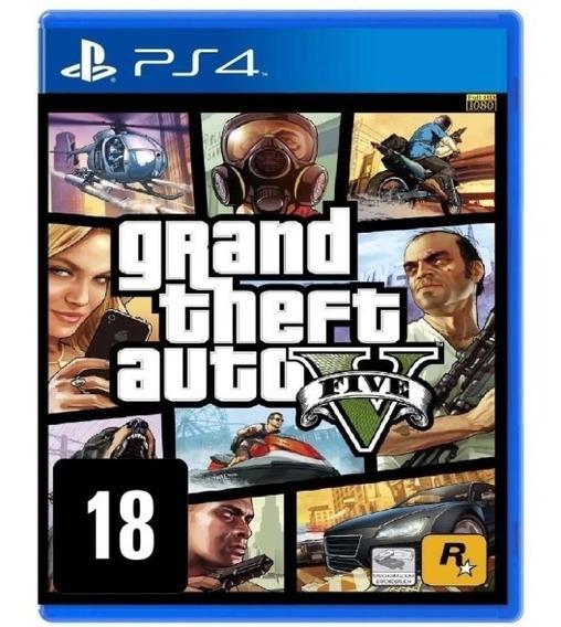 Gta 5 | Grand Theft Auto V Ps4 - Original 1 Psn - Portugues