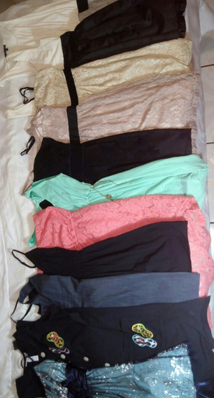 Paca/lote De 11 Vestidos Cortos Formales E Informales