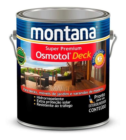 Verniz Osmotol Deck Impermeavel Natural 3,6lt Montana